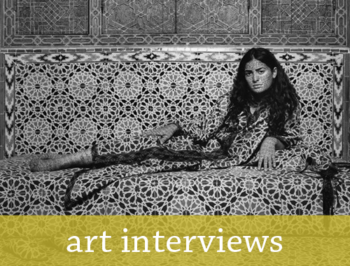 art interviews